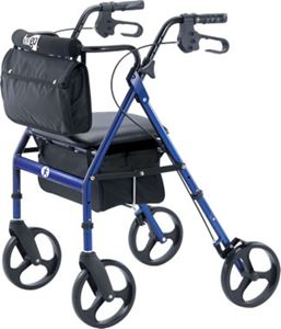 Picture of Hugo Elite Rollator, Pacific Blue