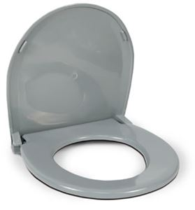 Picture of Plastic Toilet Seat With Cover, Grey For 770-312