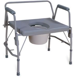Picture of Bariatric Drop Arm Commode