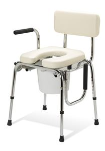 Picture of Commode  Drop Arm Padded