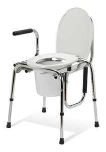 Picture of Commode  Drop Arm Plain