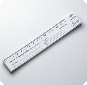 Picture of Educare  Wound  Ruler(Paper) 25 -Pad