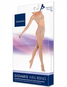 Picture of Sigvaris Sheer Fashion Closed Toe– Women (15-20 Mmhg)-Pantyhose