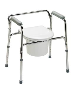 Picture of Commode 3-In-1 Steel Elongated