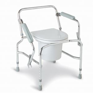 Picture of Commode Drop  Arm Chrome  Plated Steel