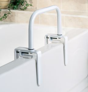 "Picture of Rail  Bathtub 8x11"" White  ** DISCONTINUED **"