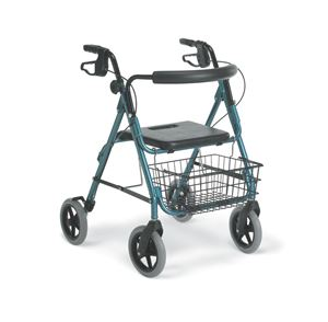 Picture of Rollator  Guardian Dlx Aluminum Blue