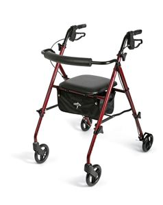Picture of Rollator  Light Wgt  250lb Cap Burgundy