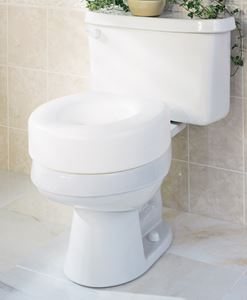 Toilet Seat Riser Economy 6 Guardian Medline
