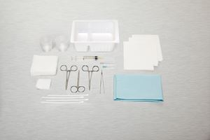 Picture of Tray Laceration Lidded   Tray Sterile