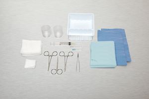 Picture of Tray Laceration Sterile
