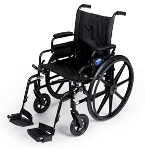 """Picture of Wheelchair K4 18"""" S -B  Dla Sa  Foot"""