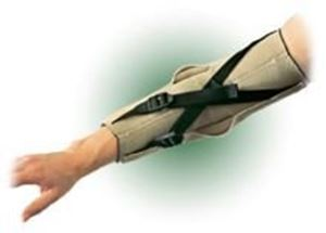 Picture of Hinged Elbow Brace With Hyper extension Straps