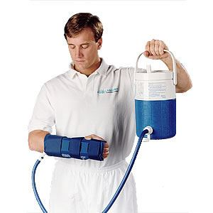 Picture of Aircast Cryo/Cuff For Hand and Wrist  with Cooler (Non Motorized Kit)