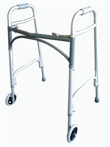 Picture of Walker-Bariatric Two Button Folding Walker