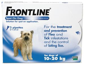Picture of Frontline Spot On for Medium Dog (23-44 lbs,6 tubes) Brand
