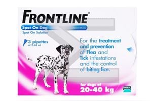 Picture of Frontline Spot On for Large Dog (45-88 lbs,6 tubes) Brand