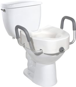 Picture of Raised Toilet Seat with Arms, 1 c/s, RTL