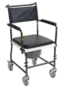 Picture of Commode Wheeled Silver Vein, 1 c/s