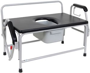 Picture of Bariatric Commode, Heavy Duty Drop-Arm 1 c/s