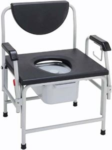 Picture of Bariatric Commode, Large, Heavy Duty Drop-Arm 1 c/s