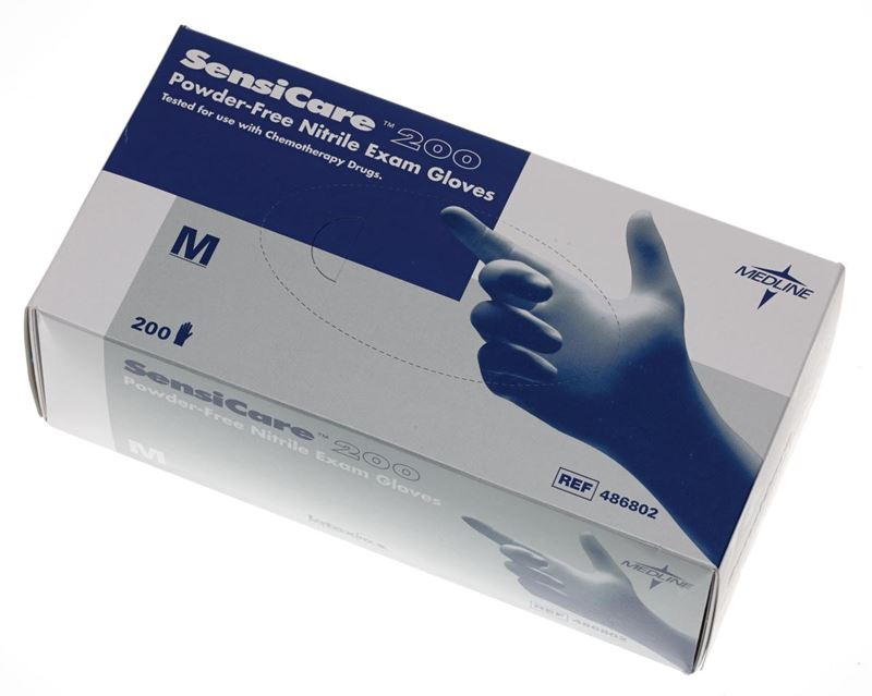 Picture of SensiCare Nitrile Exam Gloves ** NOT AVAILABLE **