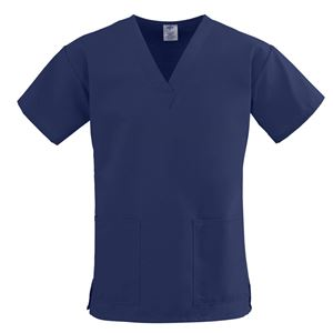 Picture of ComfortEase Ladies V-Neck Two-Pocket Scrub Tops