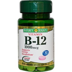 Picture of Nature'S Bounty Vitamin B12 1000Mcg Tablets