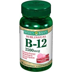 Picture of Nature's Bounty B12 Sublingual 2500Mcg Tablets