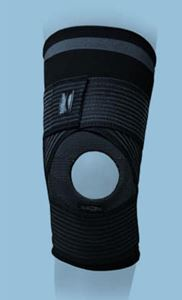 Picture of Elastic Knee Brace Strapping with doughnut hole
