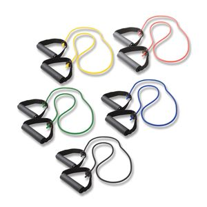 "Picture of Exercise Tubing with Handles: 5 Piece Set  - 48""/ 122 cm"