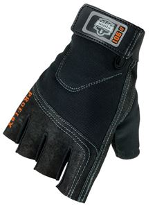 Picture of Half Finger Econo Impact Gloves-Small