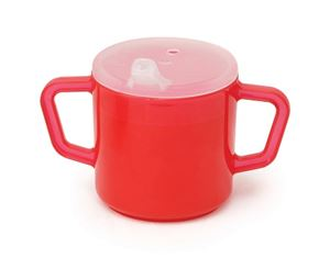 Picture of Red Two Handle Cup