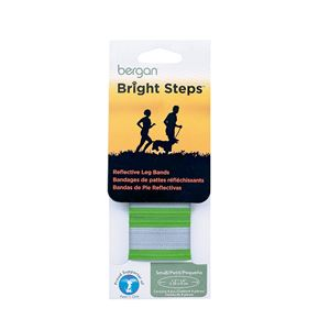 Picture of Bergan Bright Steps Reflective Leg Bands Small Green