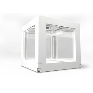 "Picture of BioBubble Deco Cube Habitat 1 pack 0.5 gallons White 5.5"" x 5.5"" x 6"""