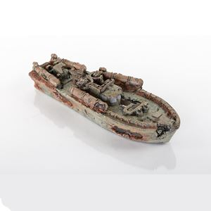 "Picture of BioBubble Decorative Sunken Torpedo Boat 12.5"" x 4.25"" x 2.75"""
