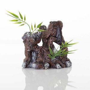 "Picture of BioBubble Decorative The Old Stump 4.25"" x 3"" x 4.25"""