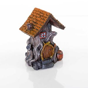 "Picture of BioBubble Decorative Woodland House 4.5"" x 4"" x 5.5"""