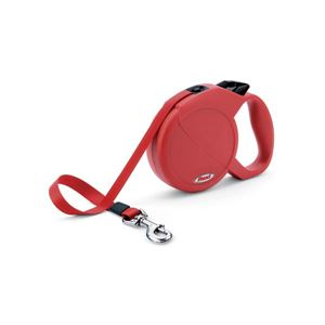 Picture of Flexi USA Durabelt Retractable Belt Leash 16 feet up to 150 lbs. Large Red
