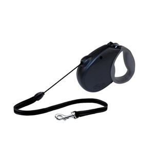 Picture of Flexi USA Freedom Softgrip Retractable Cord Leash 16 feet up to 44 lbs Medium Black