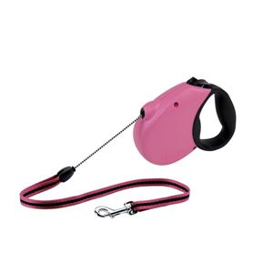 Picture of Flexi USA Freedom Softgrip Retractable Cord Leash 16 feet up to 44 lbs Medium Pink