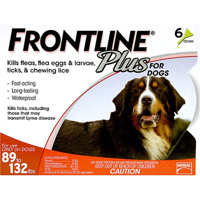 Picture of FrontlinePlus for Extra Large Dogs 89-132 lbs 6 Pack
