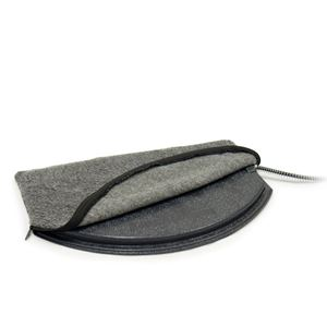 Picture of K&H Pet Products Deluxe Igloo Style Heated Pad Cover Medium Gray