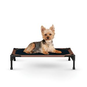 "Picture of K&H Pet Products Pet Cot Small Chocolate 17"" x 22"" x 7"""
