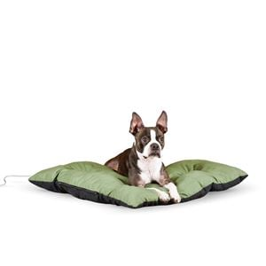 "Picture of K&H Pet Products Thermo-Cushion Pet Bed Small Sage 19"" x 24"" x 3"""