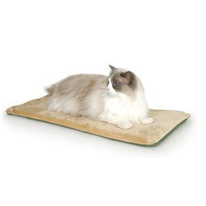"Picture of K&H Pet Products Thermo-Kitty Mat Sage 12.5"" x 25"" x 0.5"""