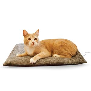 "Picture of K&H Pet Products Amazin' Thermo-Kitty Pad Gray 15"" x 20"" x 2"""
