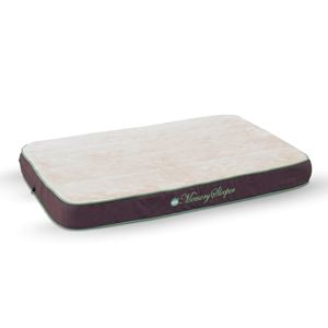 "Picture of K&H Pet Products Memory Sleeper Pet Bed Small Mocha 18"" x 26"" x 3.75"""