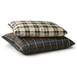 """Picture of K&H Pet Products Indoor / Outdoor Single-Seam Pet Bed Large Brown Plaid 35"""" x 44"""" x 4"""""""
