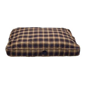 "Picture of K&H Pet Products Classic Gusseted Pet Bed Medium Plum Plaid 32"" x 46"" x 4"""